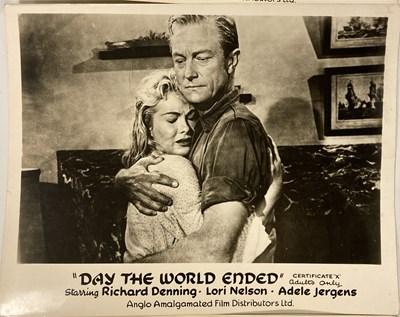 Lot 40 - DAY THE WORLD ENDED (1956) - ORIGINAL FOH STILLS