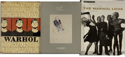 Lot 8-ANDY WARHOL - CATALOGUE RAISONNE AND SOTHEBY'S CATALOGUES