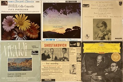 """Lot 610 - CLASSICAL - LPs & 10"""" (MAINLY STEREO RECORDINGS)"""