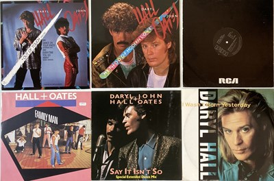 Lot 14 - HALL & OATES/ THE DOOBIE BROTHERS - LPs & 12""