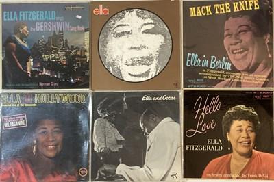 Lot 16 - ELLA FITZGERALD - LPs.