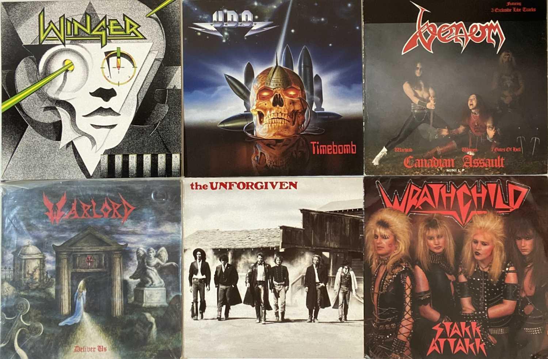 Lot 17 - METAL/ HARD ROCK - LPs
