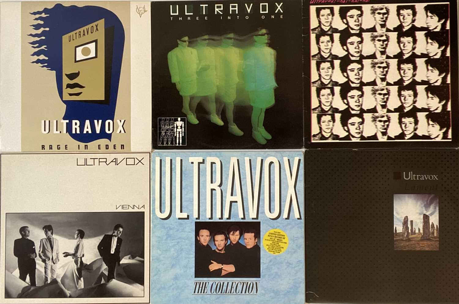 Lot 23 - NEW WAVE/ POP - LPs & 12""