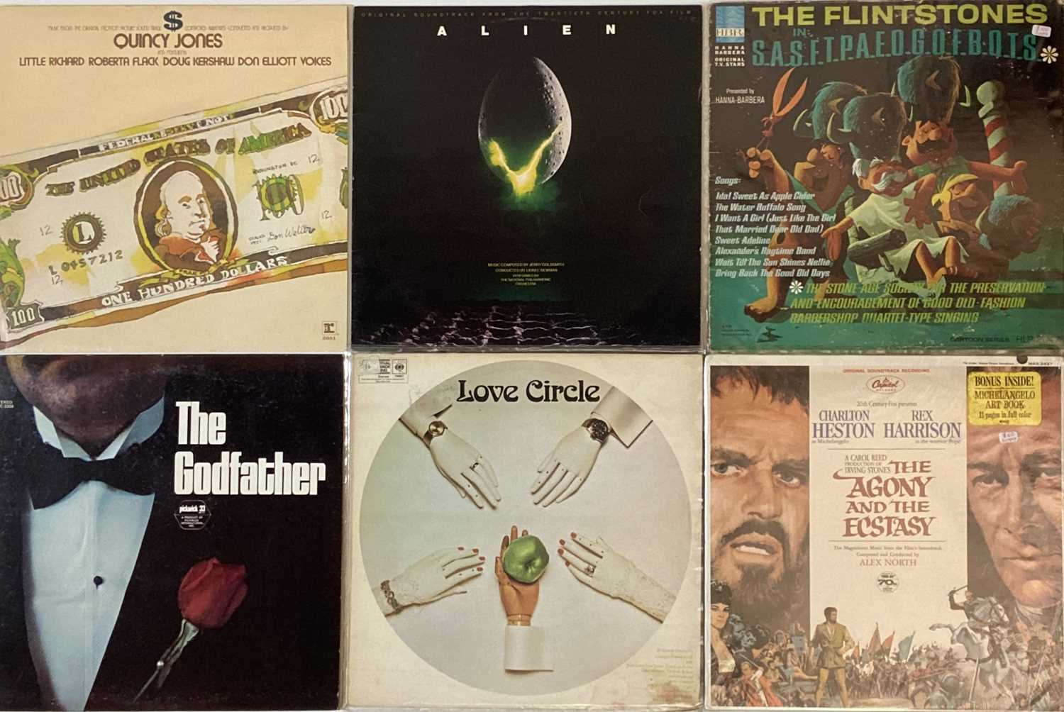 Lot 30 - SOUNDTRACKS - LPs