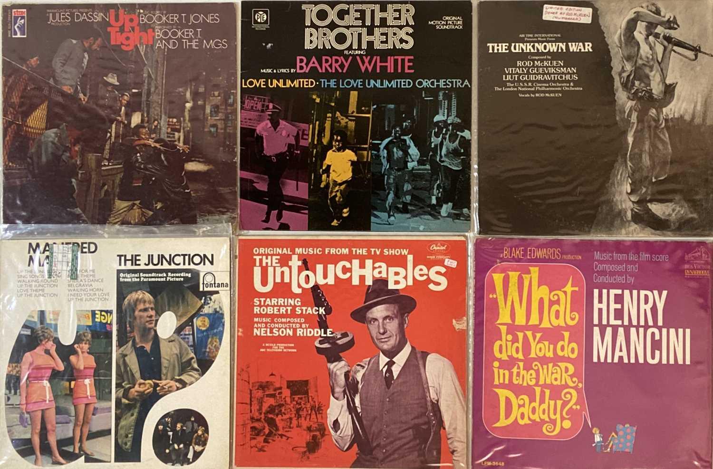 Lot 34 - SOUNDTRACKS - LPs
