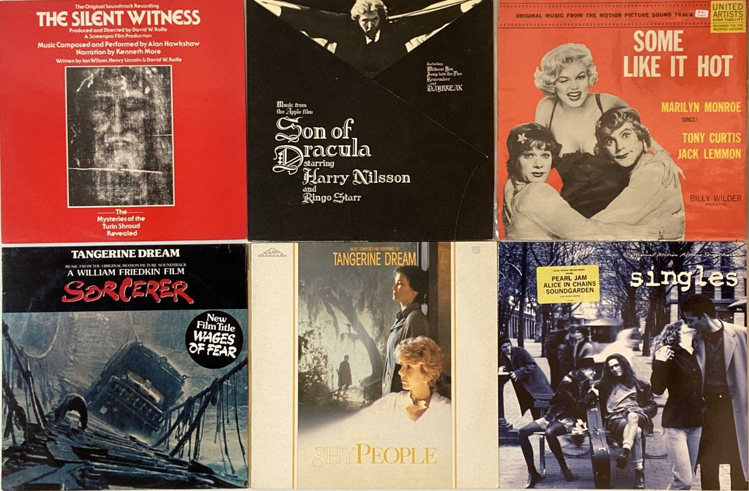 Lot 39 - SOUNDTRACKS - LPs