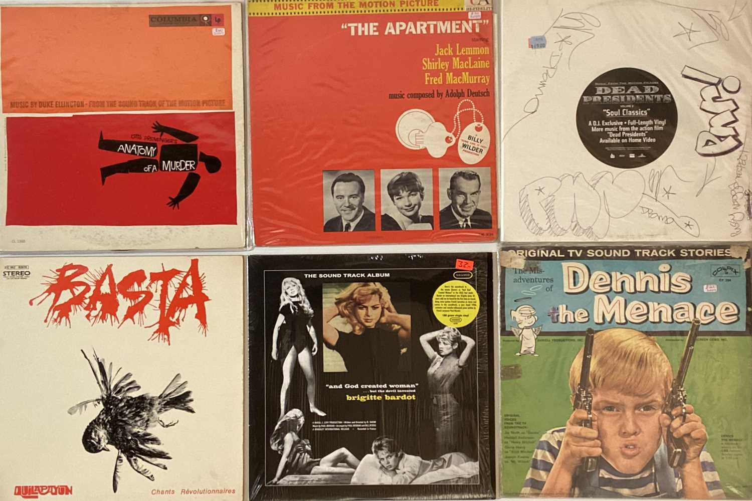 Lot 41 - SOUNDTRACKS - LPs