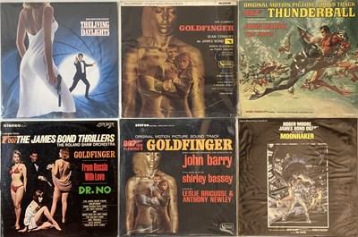 Lot 43 - JAMES BOND SOUNDTRACK - LPs