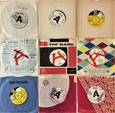 """Lot 49 - SIGNED 60s 7"""" DEMOS"""