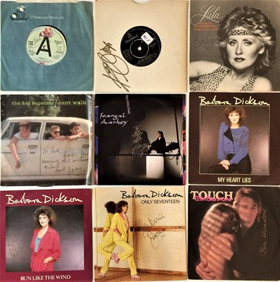 """Lot 52 - SIGNED 70s/ 80s 7"""" SINGLES"""