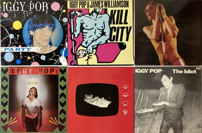 Lot 64 - IGGY POP AND RELATED - LPs. A smashing...