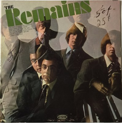 Lot 65 - THE REMAINS - S/T LP (LN 24214). Here we have...