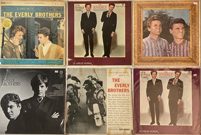 Lot 7 - EVERLY BROTHERS LPs