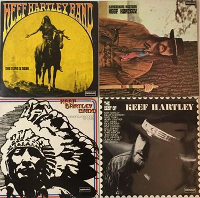 Lot 73 - THE KEEF HARTLEY BAND - DERAM LP RARITIES. A...