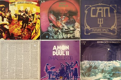 Lot 75 - KRAUTROCK - LP PACK. A super selection of 6...