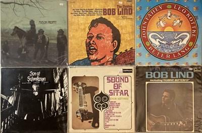Lot 80 - FOLK/ FOLK ROCK/ SINGER-SONGWRITER/ COUNTRY - LPs
