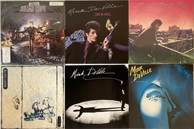 Lot 92 - INDIE/ NEW WAVE/ COOL/ SYNTH - LPs