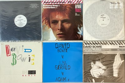 "Lot 10 - DAVID BOWIE - 12"" SINGLES"