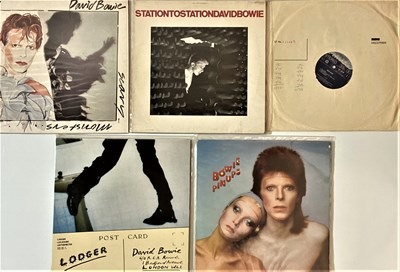 Lot 12 - DAVID BOWIE - DUTCH PRESS LPs