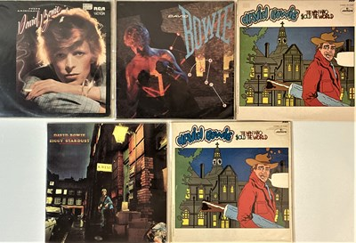 Lot 14 - DAVID BOWIE - US & INTERNATIONAL LPs