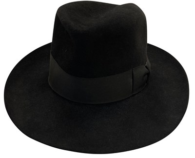 Lot 207 - DAVID BOWIE OWNED AND WORN BORSALINO HAT