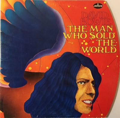 Lot 5 - DAVID BOWIE - THE MAN WHO SOLD THE WORLD - GERMAN 1972 (6338 041D)