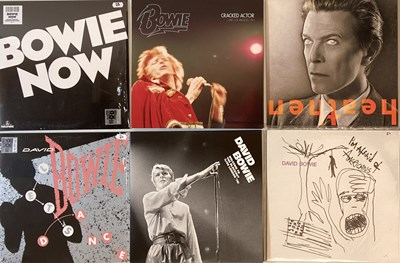 "Lot 7 - DAVID BOWIE - MODERN LP & 12"" PRESSINGS"