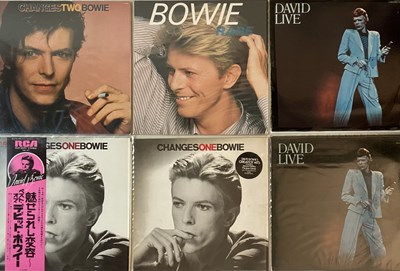 Lot 9 - DAVID BOWIE - COMPILATION LPs
