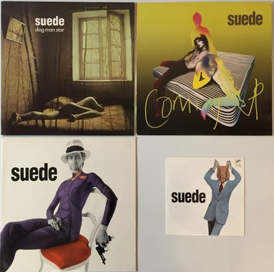 Lot 10 - SUEDE - LPs & 12""