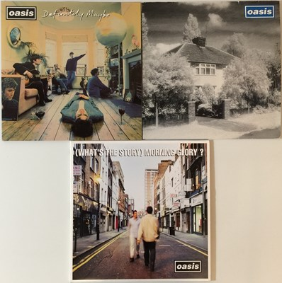 Lot 2 - OASIS - LPs & 12""
