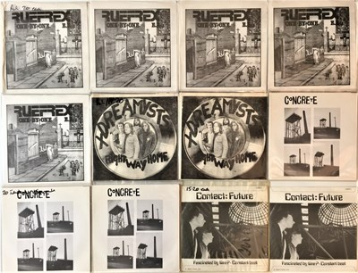 "Lot 22 - PUNK/NEW WAVE - 7"" COLLECTION (EX-DISTRIBUTOR STOCK)"