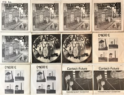 "Lot 23 - PUNK/NEW WAVE - 7"" COLLECTION (EX-DISTRIBUTOR STOCK)"