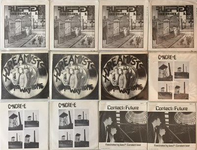 "Lot 24 - PUNK/NEW WAVE - 7"" COLLECTION (EX-DISTRIBUTOR STOCK)"