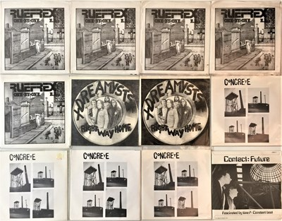 "Lot 25 - PUNK/NEW WAVE - 7"" COLLECTION (EX-DISTRIBUTOR STOCK)"