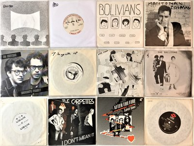 "Lot 26 - PUNK/NEW WAVE - 7"" COLLECTION"