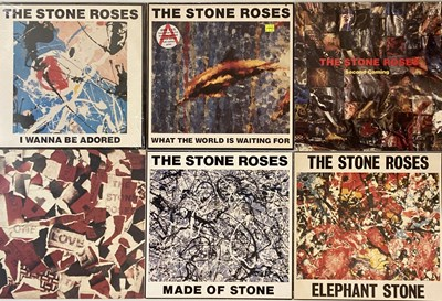 "Lot 3 - THE STONE ROSES - LP & 12"" PACK"
