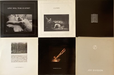 Lot 30 - JOY DIVISION/ NEW ORDER - LPs & 12""