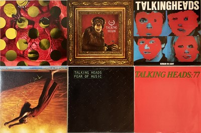 Lot 34 - TALKING HEADS AND RELATED - LPs