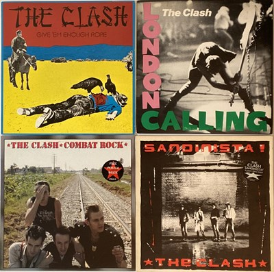 Lot 35 - THE CLASH - LPs