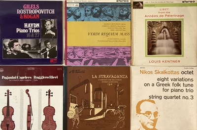 Lot 615 - CLASSICAL - UK HMV STEREO LPs/VIOLINISTS