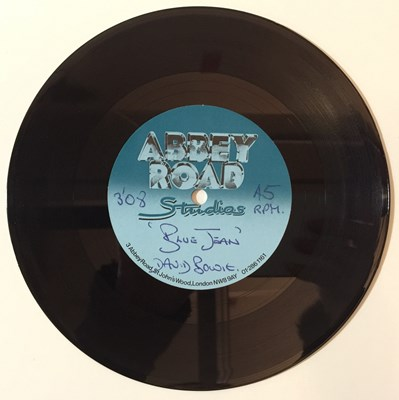 "Lot 45 - David Bowie - Blue Jean 7"" (Abbey Road Acetate)"