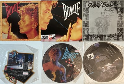 """Lot 50 - David Bowie - 12""""/LP Collection (Plus Shaped 7"""")"""