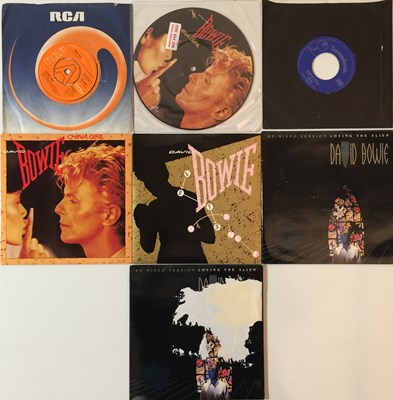 """Lot 51 - David Bowie & Related/Glam - 7""""/12""""/LP (With Demo And Picture Discs)"""