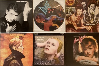 Lot 47 - David Bowie - LP Collection