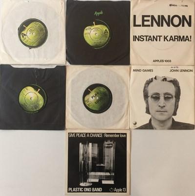 "Lot 3 - John Lennon/Yoko Ono - UK 7"" (With Demos)"
