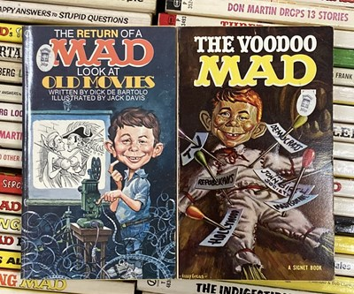 Lot 27A-MAD MAGAZINE BOOKS AND MAGAZINES