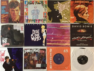 "Lot 18 - David Bowie And Related - 7"" Collection"