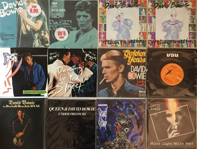 "Lot 19 - David Bowie And Related - 7"" Collection"