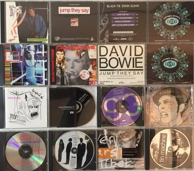 Lot 24 - David Bowie And Related - CD Promos