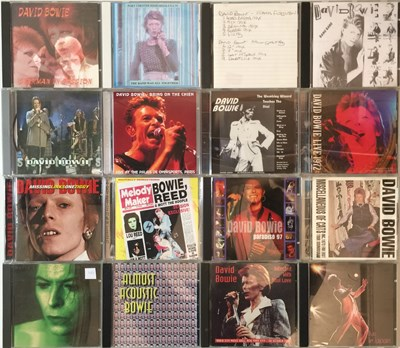 Lot 33 - David Bowie - CD Collection (Private And Live Recordings)